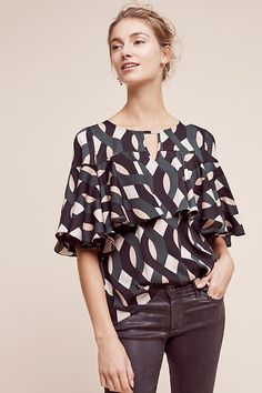 Deluna Tiered Blouse