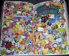 WTJ - place sticky things here by Con el mate, via Flickr
