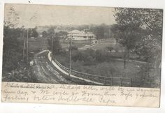 Mercer Sanitarium, MERCER PA, Vintage Pennsylvania Sanatorium Postcard