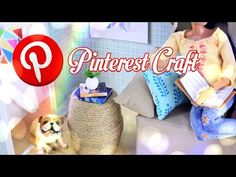DIY - Pinterest Craft - How to Make: Dollhouse Table - Handmade - Decor - 4K - YouTube