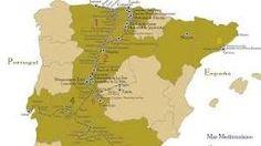 Resultado de imagen de rutas ibericas del emperador carlos V