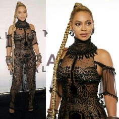 Queen #Beyonce (in #LorraineSchwartz) powerful on the black carpet for the #TidalX1015 benefit concert in the Big Apple. ( Getty) • • • • • • • • • • • • • • • • • • • • • • • • • • • • • • Queen #Beyonce (de #LorraineSchwartz) poderosa no black carpet do concerto beneficente #TidalX1015 na Big Apple. ( Getty)
