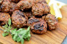 Keftedes: Grilled Greek Meatballs Recipe :: The Meatwave