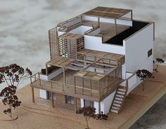 """Check out this @Behance project: """"Wooden architecture model"""" https://www.behance.net/gallery/25801349/Wooden-architecture-model"""