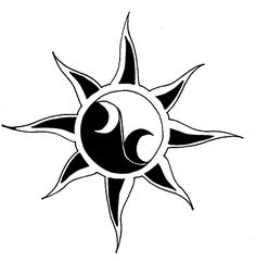 Sun Tattoos pictures and designs. Free high quality photographs, flash and image designs in our Sun Tattoos Gallery. Celtic Tattoos and Tribal Tattoos shown also. Tribal Tattoos, Yin Yang Tattoos, Sun Tattoos, Tattoos Skull, Bild Tattoos, Celtic Tattoos, Tattoos For Guys, Tatoos, Tattoo Stencil Designs