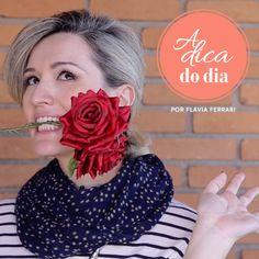 Como limpar flores artificiais #aDicadoDia com Flávia Ferrari