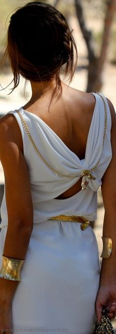 Street Style - White and Gold