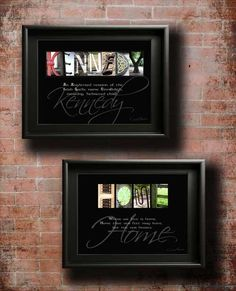 """Surname Origin Home Decor Surname Ancestry Gift - Last Name Origin. Unique Gift Idea for all occasions. ANY name designed using our stunning letter art images.  We design gifts with meaning - Artwork, Heritage, Craft - all in one. Have you ever wondered """"what does my last name mean""""?"""