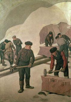 The Athenaeum - Stone Breakers (Pekka Halonen - )
