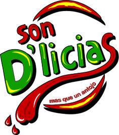 Logo para puesto de comidas rápidas Food Brand Logos, Logo Food, Food Menu Design, Food Truck Design, Bakery Logo, Logo Restaurant, Ice Pop Recipes, Fruit Shop, Wings Logo