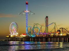 Galveston, Texas is one of the most popular coastal cities in the Lone Star State. The sandy beaches here draw… Texas Vacations, Dream Vacations, Vacation Spots, Texas Beach Vacation, Family Vacations, Cruise Vacation, Disney Cruise, Beach Trip, Family Travel