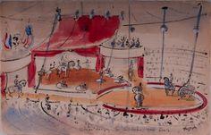 gerard hordijk - Stage design circus Van Leer