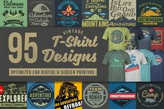 95 T-shirt Designs Mega Bundle, This bundle contains 95 various t-shirt designs in various format. There are variety of themes in this bundle including : Christianity tshirt Designs, Geometrical tshirt Designs, Motivational Quotes, Outdoor Activity tshirt Illustration Vector, Illustrations, Pencil Illustration, Business Brochure, Business Card Logo, Design Logo, Graphic Design, T Shirt Custom, T Shirts