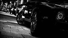 Ford GT Black 1080p HD Wallpaper Car
