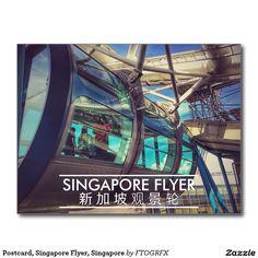 Postcard, Singapore Flyer, Singapore Postcard