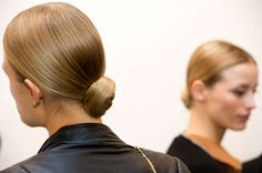 The Best Beauty Looks from NYFW SPRING 2013 - Ralph Lauren: A look from the back.