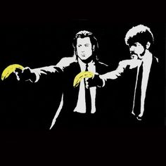 Pulp Fiction (2004) by Banksy - $3600