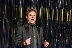 Theatre student Sam McLellan performs at Arts Bash on January 31, 2015