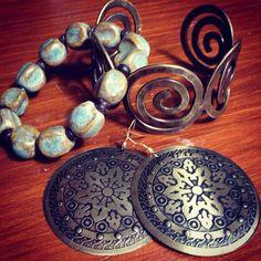 #fairtrade #jewelry #bracelets #earrings from Trades of Hope