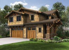 Plan 23602JD: Rustic