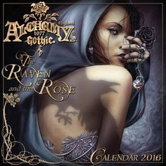 Calendrier gothique - 2016 - Alchemy gothic - Papeterie ghotic