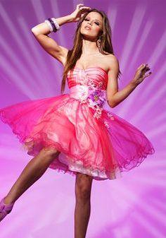Sweetheart Tulle Ball Gown Zipper up Short Length Sleeveless Party Dress - Angeldress.co.uk