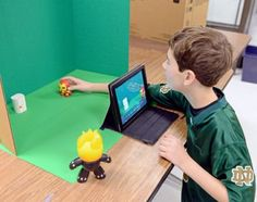 nice Glen Crest Middle School students learn how to make stop-motion animation videos
