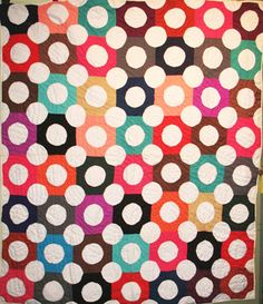 Dot Quilt from Barbara Brackman's MATERIAL CULTURE