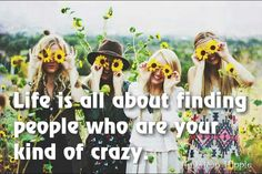 ☮ American Hippie ☮ Crazy friends