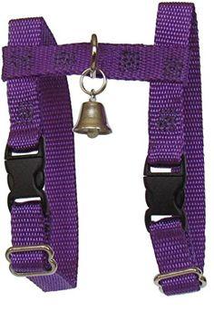 """Sandia Pet Products 3/8"""" REGULAR Purple Ferret Harness wi... https://www.amazon.com/dp/B0002IPJ3S/ref=cm_sw_r_pi_dp_x_X7iVyb4RQYQH7"""
