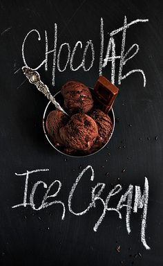 Cocina de Revista, Helado de chocolate/ Chocolate Ice Cream Recipe/ Ice cream…