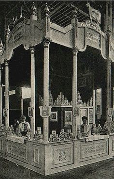 St. Charles Cream Display, 1904 St. Louis World's Fair