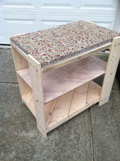 Picture of Recycled pallet table