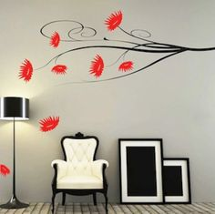 Autumn Leaves Wall and Window Decals Wall art designs Leaves