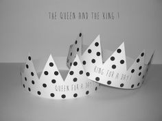 Gabulle in wonderland : couronne à imprimer pour la fête des rois ( printable crown)