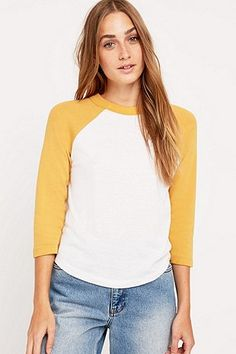 Urban Outfitters '70s Baseball Tee