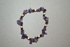 bracelet en améthyste, Opale Isis, Christine Monsion