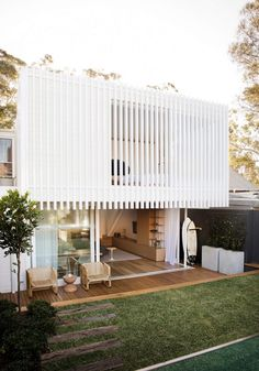 Workers House by Clayton Orszaczky Architects - Sydney Design Gallery - The Local Project Houses Architecture, Residential Architecture, Modern Architecture, Ancient Architecture, Sustainable Architecture, Exterior Design, Interior And Exterior, Modern Exterior, Architects Sydney