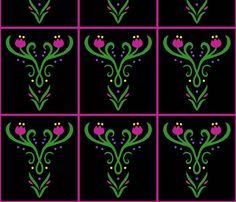 frozen elsa anna fabrics, wallpaper & gift wrap - Spoonflower