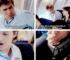 He was so cute on this scene and ahhaha they pretty much quoted the book I loved it so much