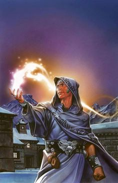 m Sorcerer midlvl Cloak Bracers Belt money bags urban Village northern farmland hills winter snow mountains Author Unknown - Most people see fire magic as destructive, but to a frozen town, it is warmth and light Fantasy Wizard, Fantasy Story, Fantasy Male, High Fantasy, Fantasy Rpg, Medieval Fantasy, Fantasy World, Fantasy Portraits, Character Portraits
