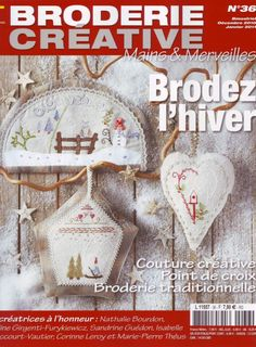 """""""Broderie Creative"""" -'Brodez l'Hiver'"""