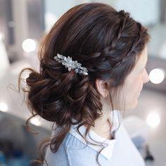 Wedding updos with braids Modern take on braids | itakeyou.co.uk #wedding #updos #weddingbraids #weddinghairstyle #bridalbraids #bridedupdos