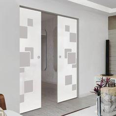 Glass Pocket Doors – Page 11 Glass Pocket Doors, Sliding Glass Door, The Doors, Creative Design, Hardware, Contemporary, Interior, Room, Furniture