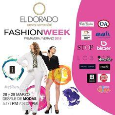 Las mejores marcas exponiendo sus nuevas #tendencias. Ven a El Dorado y presencia nuestro #desfile de #modas.