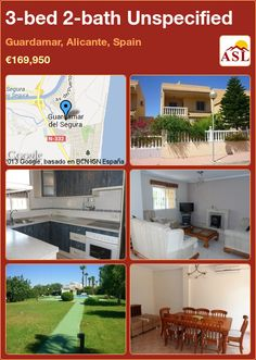 3-bed 2-bath Unspecified in Guardamar, Alicante, Spain ►€169,950 #PropertyForSaleInSpain