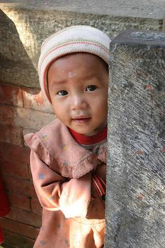 A little Nepalese girl. Absolutely beautiful.