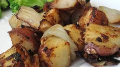 Roasted Potatoes and Onions - Easy and Delicious