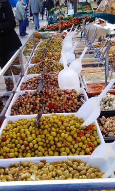 All kind of olives. Made in France