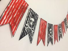 Garland supplies PIRATES 1 set by EPICparties on Etsy, $12.00